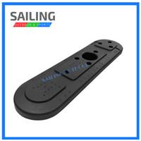 kajak aufblasbar großhandel-Neuer Kajak-Boot ABS-Hatch-Deckel Mittelkonsolen-Speicherabdeckung mit 7 Rutenhalter-Schlitzen für Schlauchboot-Zubehör