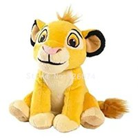Wholesale Teddy Bear Girl Boy - New The Lion King Simba Plush For Girls Boys Mini 18CM Kids Stuffed Animals Toys Children Gifts