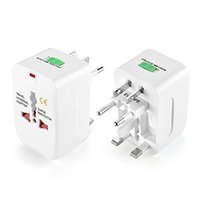 Wholesale universal world plug travel adapter converter for sale - Group buy High quality All in One Universal International Plug Adapter World Travel AC Power Charger Adaptor with AU US UK EU converter Plug