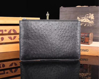 Wholesale boys long wallet for sale - Group buy Customs made real crocodile alligator wallet clutches
