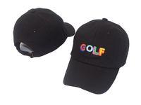 будущие шляпы оптовых-Тайлер создатель Гольф шляпа-черный папа Cap Wang крест футболка Earl Odd будущее бесплатная доставка