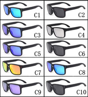 Wholesale Option Mirror - Promotion HOT SALE Brand Polarized Holbrook Sunglasses Men Women Sport Cycling Glasses 9102 Goggles Eyewear 10 color options MOQ=10pcs