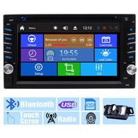 receptor de tv chinês venda por atacado-Câmera de Backup + Multi-Toque na Tela de Áudio Autoradio Monitor de 2D em Traço Video CD VCD Carro DVD Player USB SD Rádio Receptor Bluetooth Car Stereo