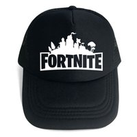 Wholesale free games online for sale - Hot Online Game Fortnite baseball snapback cap for men and women fans gift hat black and white colors high quality