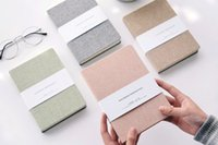 Wholesale Notepad Journal - Cloth Cover Hardcover Notepads with blank Page sketch Notebook 128sheets journal notebooks