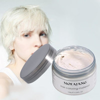 Wholesale 7 COLOR Mofajang hair wax G for hair styling Pomade Strong style restoring hair clay long lasting
