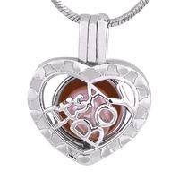 ingrosso alta gabbia-New fashion placcato argento a forma di cuore ragazzo ciondolo gabbia di cristallo zircone elegante cristallo di alta qualità P178