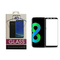 Wholesale Galaxy Front - High Quality Tempered Glass 3D Curved Full Coverage For Galaxy Note 8 S8 Plus S7 Edge IPhone X 8 7 6SPLus