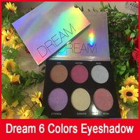 beauty dream großhandel-2018 New Dream G K 6 Farben Lidschatten-Palette Make-up Lidschatten Beauty Dream Palette Matte