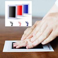 almohadilla de entintado al por mayor-Bebé no tóxico Handprint Footprint Imprint Kit Recuerdos de bebé Casting Huella de recién nacido Ink Pad Infant Photo Frame Kit KKA5716