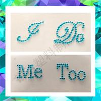 Wedding Decor Acrylic Shoe Sticker Party Supplies I Do Me Too Exquisite  Stickers Diy Craft To High Heeled Shoes For Women 1lg jj 491637e04b03