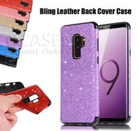 Wholesale water resistant case huawei - For Samsung S8 S9 Plus 2018 Fashion Bling Glitter Girl Slim Phone Soft Case Cover For iPhone 6S 7 8 Plus X Huawei P20 Lite Pro P9 P10 Lite