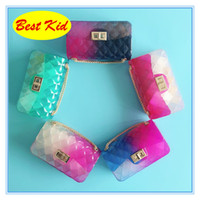 Wholesale girls jelly bags for sale - Group buy BestKid DHL New Jelly bags for Baby girls Childrens Summer fashion Coin Purse Kids Crossbody bags new Candy Colors Bags BK058
