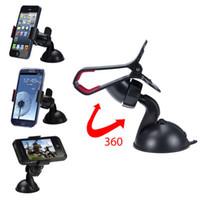Wholesale Car Dvr Bracket - Universal Car GPS Mount Holder Windshield Holder Stand DVR PAD Tablet PC Samsung iPhone 6S SE 7 8 Bracket