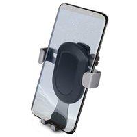 freie handzelle großhandel-Telefon Gravity Holder Handy Halterung für Auto Vent, Hände frei Handy-Halter für iPhone 7/7 Plus / 6 / 6s Plus, SE, Samsung Galaxy S6 / S7 / S7 andere