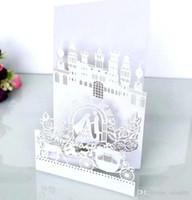 3D Folded Laser Hollow Personal Design Wedding Invitation Customization Invites With Envelope Accessory Blank Inner Custom