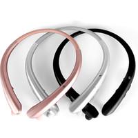 ingrosso lunghe cuffie-Alta qualità CSR4.1 Auricolari Bluetooth per cuffie HWS916 Nuovi sport Musica senza fili Lunga attesa Bluetooth Cuffie stereo
