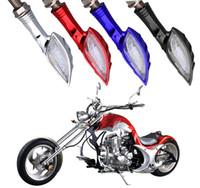 Wholesale Universal Motorcycle Turn Signals - 4 Colors Universal Motorcycle Turn Signal Light 12 LED SMD Indicator Blinker Flash Bike Lamp Lights GGA265 120PCS