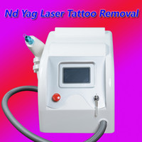 Wholesale pigment remover - 1064nm 532nm Q Switched Nd Yag Laser Tattoo Eyebrow Pigment Removal Machine Scar Acne Remover free shipping
