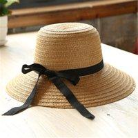 новый модный рынок оптовых-Новый 2016 мисс ся цзи шляпа от солнца мода лук козырек пляжная шляпа женский туристический рынок загар складной соломы