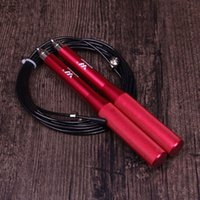Wholesale metal jump rope for sale - Group buy Double Bearing Rope Skipping Metal Boxing Speed Exercise Fitness Crossfit Jump Gym Skipping Rope Weight Bearing Racing Jump Ropes