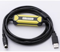 cabo mitsubishi usb venda por atacado-Aplicável ao cabo de programação PLC Mitsubishi USB-SC09-FX Cabo de comunicação PLC série Mitsubishi FX Banhado a ouro com anel magnético