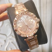 Wholesale student dresses - 2018 New Arrival Women Dress Watch student luminous Famous Brand Steel wristwatches Quartz Lady Female watch relojes mujer gifts box clock