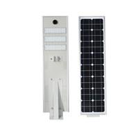 Wholesale Industrial Solar - 2018 NEW 50W LED Solar Street Light Outdoor Waterproof IP65 T5 Floodlight spotlights integrated Intelligent infrared sensor