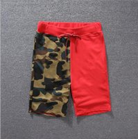 Wholesale Knee Pants For Men - M-2XL Summer Casual Shorts For Mens Designer Pants Skateboard Crocodile Printed Knee Length Closure Drawstring Mid Waist Shorts Clothing