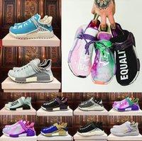 Wholesale Bbc Blue - Body Earth BBC Equality Human Race Pharrell Williams Black Purple Cream Holi Hu trail NERD Men Womens Running Shoes SPECIES sports Sneaker