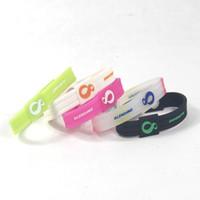ingrosso braccialetti del braccialetto del silicone di potere di energia-Pallone da basket in silicone di qualità