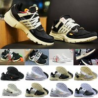 Wholesale shoelace new for sale - 3color shoelace New Original Presto V2 Ultra BR TP QS Black White X Running Shoes Sports Women Men aI Prestos off Basketball Sneakers