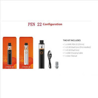 ingrosso prese di fabbrica diretta-E-cigarette Pen 22 Built-in 1650mah 0.3ohm USB Direct Charging Beginner Smoke Set Factory Outlet DZY0201