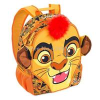feecd57cf0eb4 Nouveau Le Lion Guard Kion Le Roi Lion Simba Sac À Dos Garçons Sac D école  Maternelle École Préscolaire Bookbag Enfants Enfants Sacs