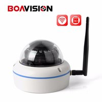 Wholesale wifi camera waterproof dome - 720P 1080P Wifi Dome IP Camera Outdoor Waterproof 3.6mm Lens Plug And Play Wireless IP Camera Security Cameras Onvif P2P View