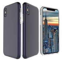 Wholesale iphone google phone - For iPhone X 8 plus 7 clear tpu frame Slim Hybrid cellphone case For samsung s9 plus S8 j7 prime LG Huawei Xiaomi Google phone Cases Cover