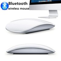 decoraciones usb para computadora al por mayor-Ratón USB Ratón Bluetooth Ultradelgado inalámbrico para oficina o hogar Optimización de la forma silenciosa Para Apple y otros con paquete minorista