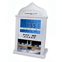 молитвенные часы оптовых-Azan clock athan prayer clock Automatic Azan wall prayer 4004 Islamic Quran Muslim