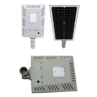 Wholesale one security for sale - Group buy LED Solar Street Light Wall Garden Lights W All in One with Motion Sensor Waterproof IP65 Super Bright Security Night Lighting for Street