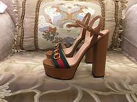 chanclas de correa de tela al por mayor-2018 hout! zapatos de mujer, zapatos de lujo, zapatos de diseñador, los zapatos de tacón alto de versión original, zapatos de tacón alto para mujer