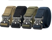 Wholesale Girls Purposes - Newest 3.8cm tactical belt male army fan tactical belt multi-purpose nylon outdoor training belt