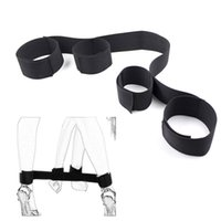Wholesale wholesale adults toys - SM Restraints Costume Hands Cuff Ankle Handcuffs Sex Bondage Strap Role-playing Adult Products Sex Toy for Couples Woman DHL FEDEX FREE SHIP