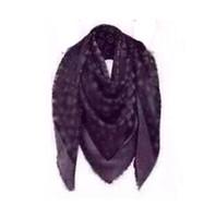 Wholesale Womens Wool Scarves - High Qualtiy luxury brand wool silk cashmere Womens scarf Big Size 140x140cm Scarves Lettrt pattern silver thread design Scarf Thick Shawl