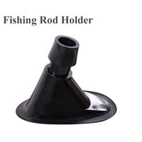 Wholesale Pole Fishing Equipment - plastic fish rod holder to be glued on inflatable fishing boat hold fishing rod pole fishing device equipment accessory