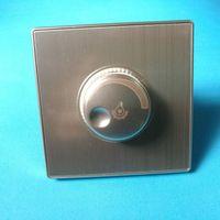interruptor pir 24v al por mayor-2000W Dimmer 220V 240V Interruptor regulador de luz de alta potencia 86 instalación oculta brillo de lámpara incandescente interruptor de atenuación