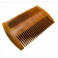 Wholesale Ebony Hair - Wholesale Pocket Beard Wooden Grooming Hair Comb Fine Toot High Quality Pocket Comb Ebony Wood Hair Comb Gift Free DHL