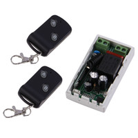 Wholesale wireless rf transmitter receiver remote resale online - 315MHz Wireless AC220V CH Buttons Transmitter Receiver Remote Control Switch Module Controllers RF Transceiver