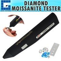 elmas testi toptan satış-DMT-3 Yüksek Doğruluk Profesyonel Elmas Mozanit Tester Taş 2pt Jewel Taş Combo Mücevher Takı Test Aracı