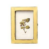 Wholesale Vintage Picture Frames Wholesale - Vintage Photo Frame Wooden Wedding Pictures Frames (Yellow)