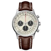 marcas de relógios digitais venda por atacado-Brietling luxo relógio mens relógios relógio de quartzo famosa marca de moda 316 aço fino relógio à prova d'água aaa qualidade